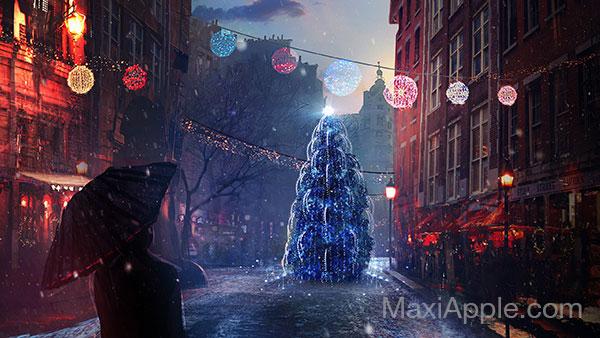 fond ecran mac pc wallpapers fetes noel 3 - 50 Fonds d'Ecrans Noël en HD 4K pour Mac (gratuit)
