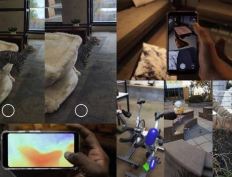 ARCore Depth API out to improve augmented reality experience