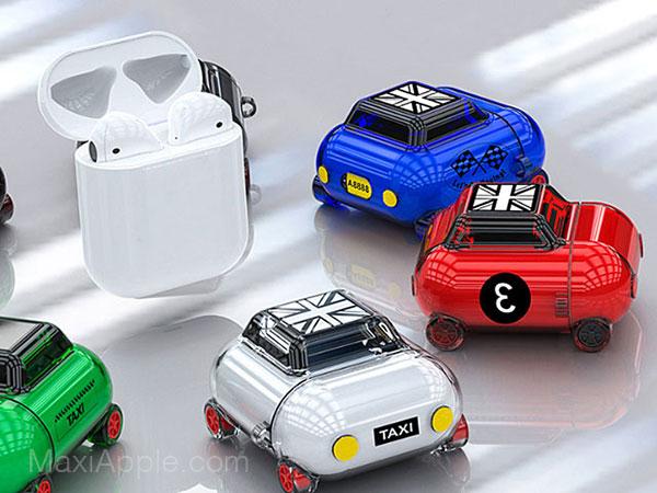 mini car airpods case protection austine voiture 01 - Cette Protection Transforme les AirPods en Austin Mini (images)