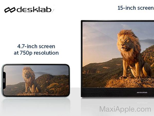 desklab ecran portable 4k tactile mac macbook iphone ipad 05 - Desklab, Ecran Portable Tactile 4k 15' pour Mac, iPhone, iPad (video)