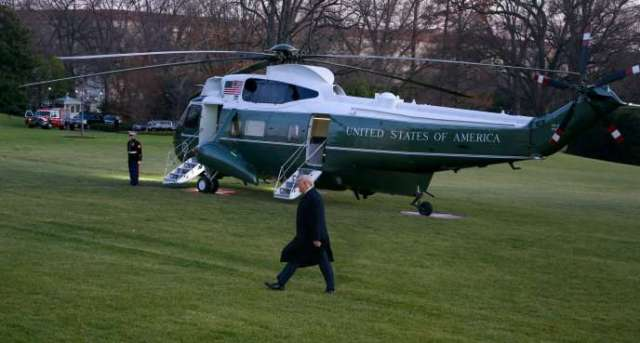 Le président américain, Donald Trump,à la Maison Blanche, à Washington, le 18 décembre.