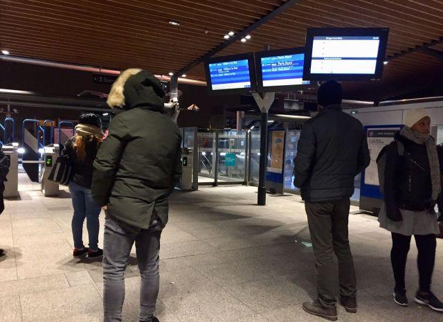 Peu de passagers à la gare de Garges-Sarcelles (Val d'Oise)/Victor Tassel