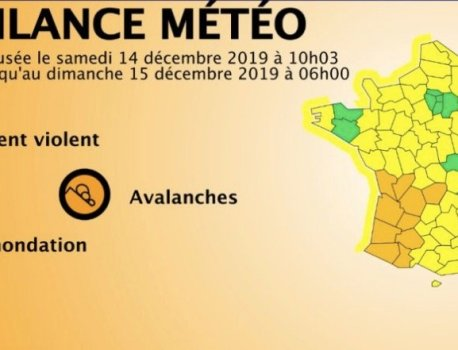 EN DIRECT – 25.000 foyers privés d'électricité ce soir, principalement en Nouvelle-Aquitaine et en Occitanie- 14 départements en alerte orange dans le sud-ouest, les Alpes et la Corse pour vents violents et inondations – Le Blog de Jean-Marc Morandini
