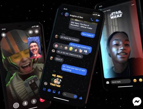 Facebook and Disney bring Star Wars-Themed Messenger effects