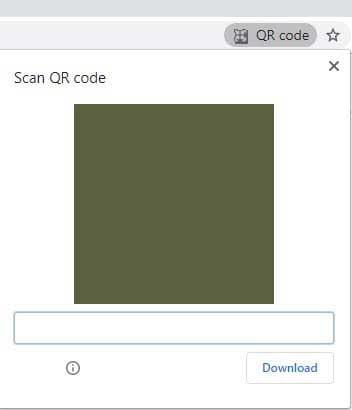 Chrome Canary 80 – Générateur de code QR