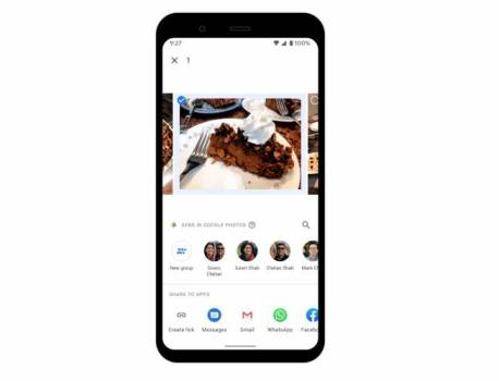 Google Photos now has in-app messaging for easier photo sharing