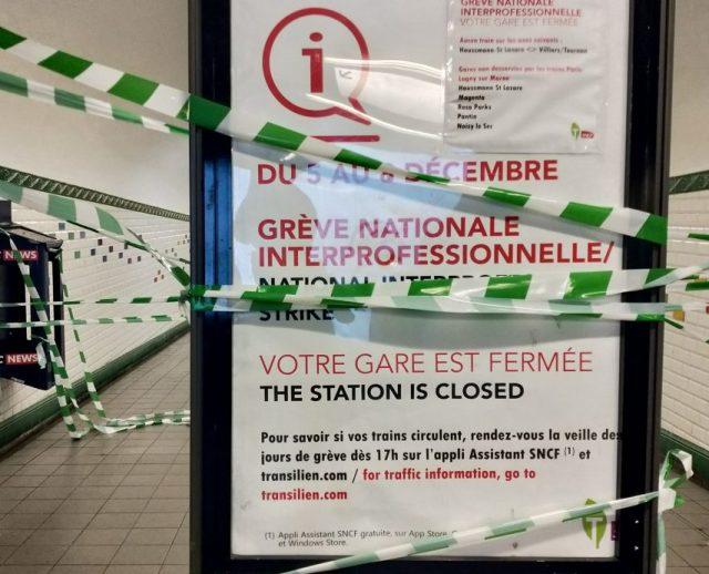 Plusieurs lignes de métro resteront fermées, dimanche 8 décembre 2019 à Paris et en Île-de-France. Ce sera compliqué sur les RER.