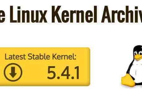 Le noyau Linux 5.4.1 est disponible, le déploiement en masse peut débuter