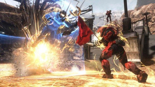 Halo: Reach gameplay.