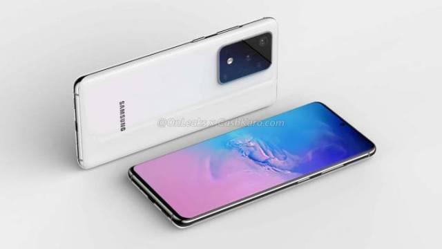 Samsung Galaxy S20 Concept Phone