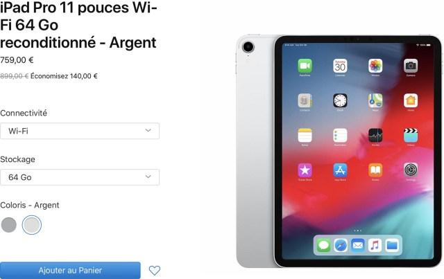 iPad Pro Refurb