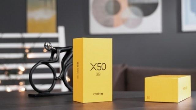 Realme X50 5G design revealed, live image confirms side-mounted fingerprint scanner