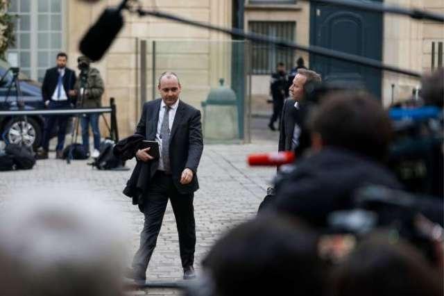 Le secrétaire général de la CFDT, Laurent Berger, arrive à Matignon, le 19 décembre.