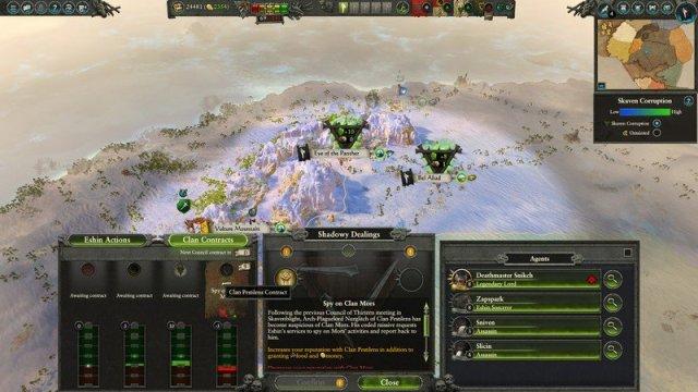 Clan Eshin undertakes Shadowy Dealings in Total War: Warhammer II - The Shadow & The Blade