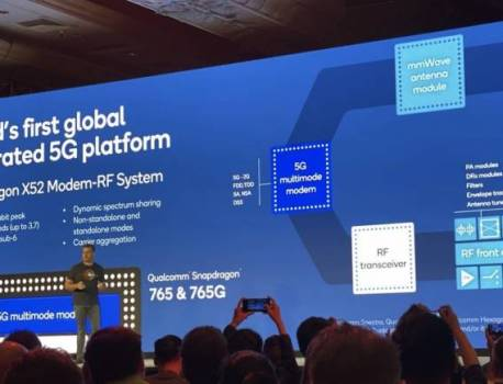 Snapdragon X52 5G modem announced, works with Snapdragon 865