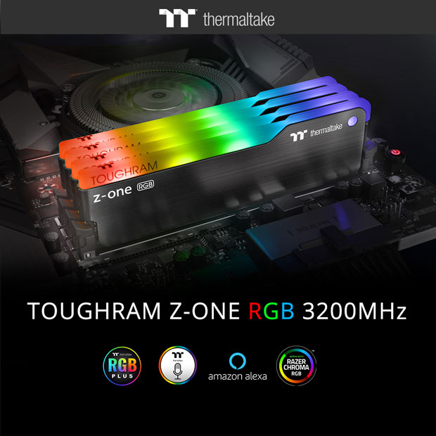 Kit DDR4 TOUGHRAM Z-ONE RGB de Thermaltake