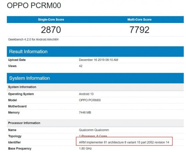 An alleged Sony Xperia phone pops up on Geekbench with Snapdragon 765(G)