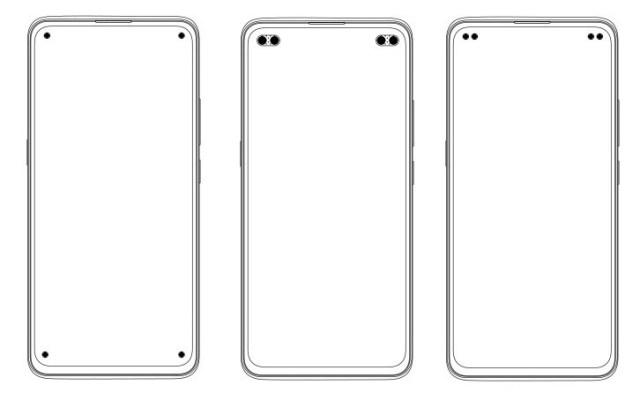 Vivo patents several quad punch-hole smartphone designs