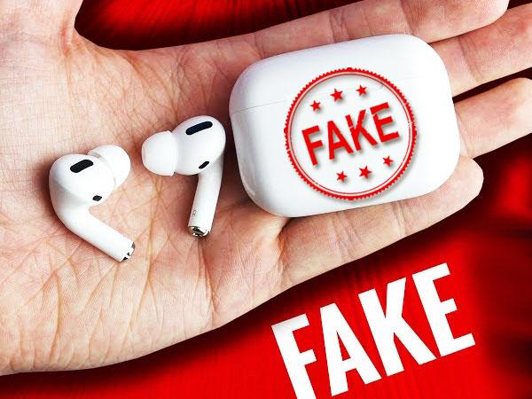 faux copie clone contrefacon airpods pro i500 tws 01 - Voici comment Reconnaitre les faux AirPods Pro (video)
