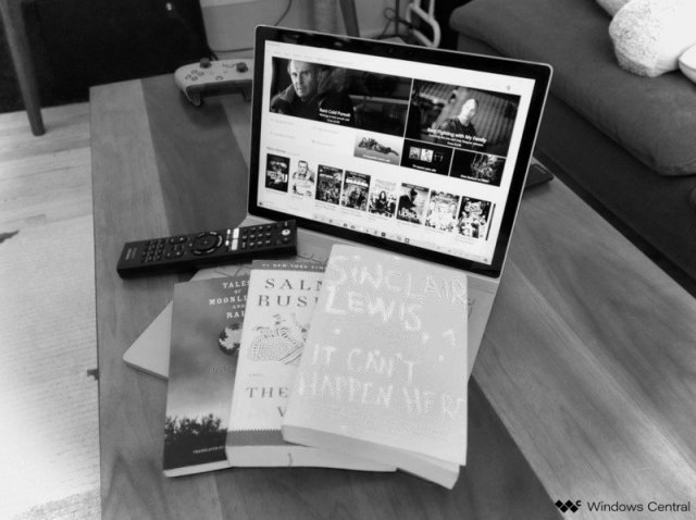 Books and Surface Book
