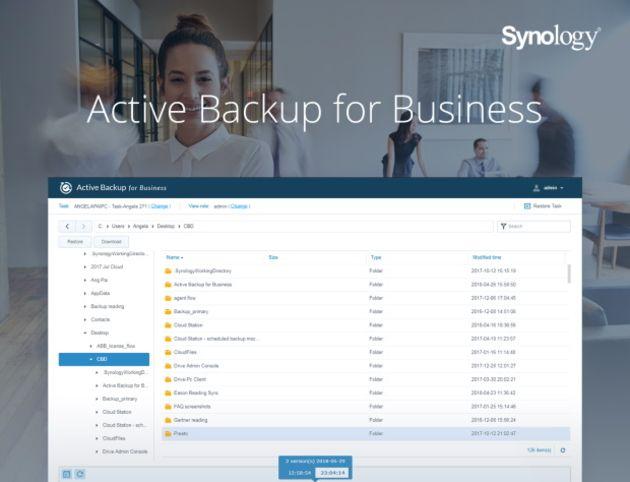 Active Backup for Business : la solution de backup de Synology