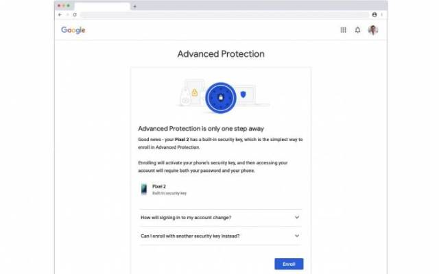 Google Advanced Protection Program
