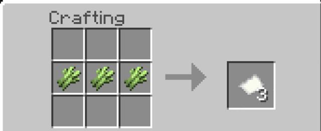 Paper crafting recipe