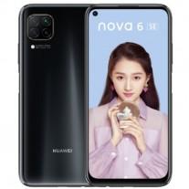 Huawei nova 6 SE in Magic Night Black color