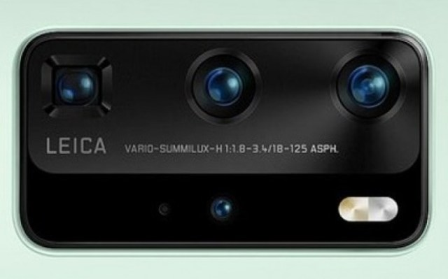 Huawei P40 Pro render shows off new mint green color