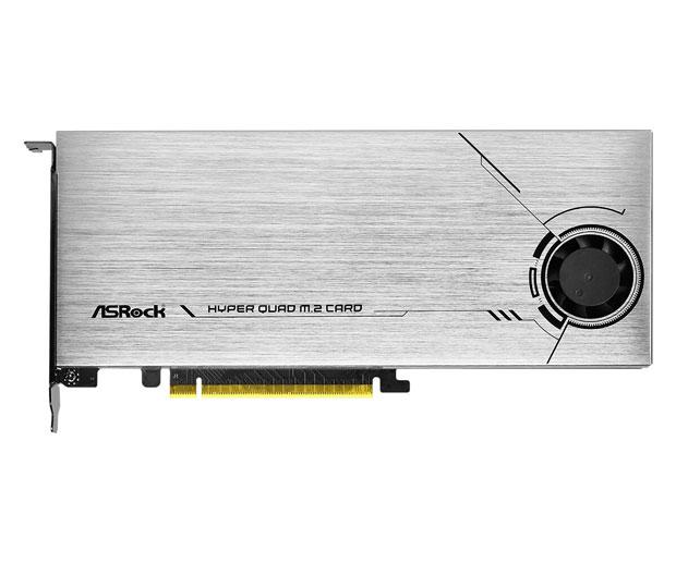 Hyper Quad M.2 PCIe d'ASRock