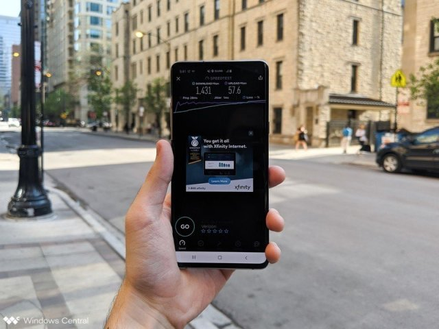 Samsung Galaxy S10 5G Test