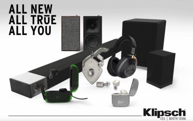 Klipsch Products CES 2020 Booth 12506