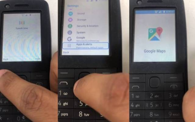 Android-powered Nokia feature phone