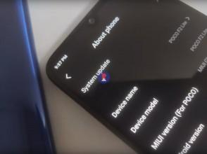 Alleged photos of Pocophone F2 Lite