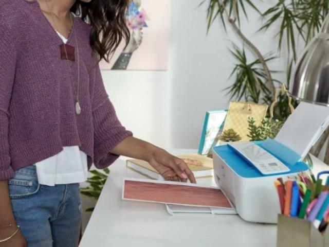 HP DeskJet 3755 All-in-One Printer lifestyle image