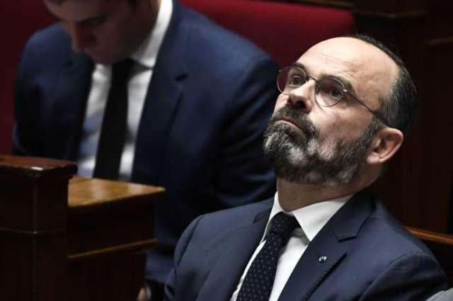 Le premier ministre, Edouard Philippe, le 7 janvier à l'Assemblée nationale à Paris.