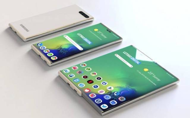 Samsung Expandable Screen