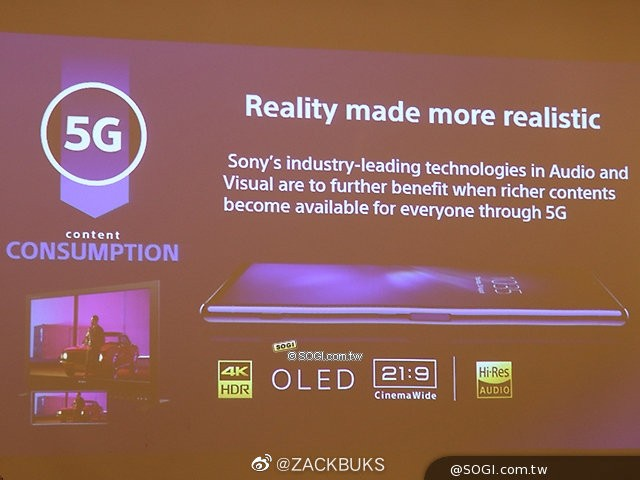 Sony is expected to unveil several 5G phones at the MWC