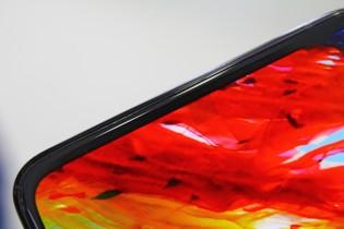 A prototype of an under display selfie camera