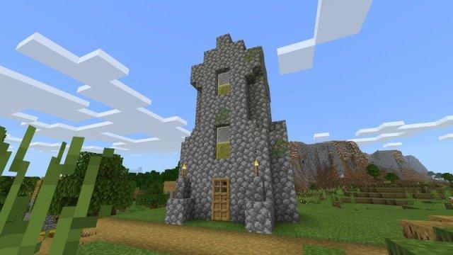 Minecraft tower