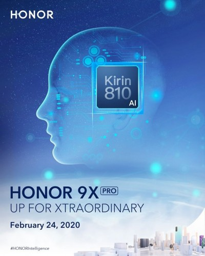 Honor 9X Pro global launch set for February 24