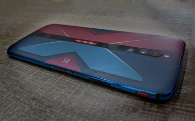 Pre-release nubia Red Magic 5G revealed in first live photo