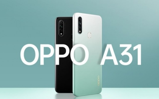 Oppo A31 launched with 6.5'' display, Helio P35 and 4,230 mAh battery