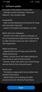 Samsung Galaxy A30 receiving the Android 10 + One UI 2.0 update