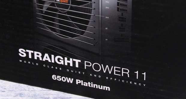 Alimentation Straight Power 11 Platinum 650W
