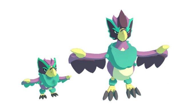 Zephyruff Evolutions