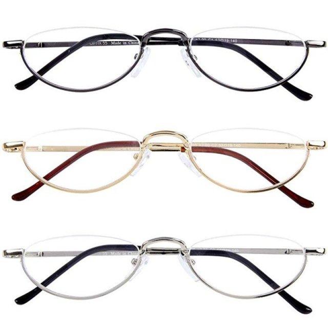 Optix 55 Half Frame Reading Glasses