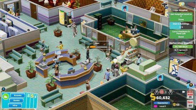 Two Point Hospital Xbox