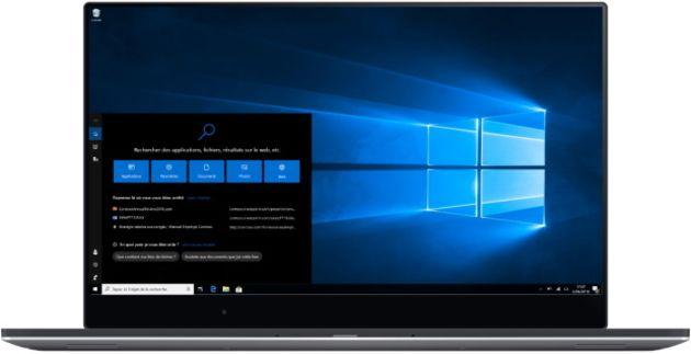 Windows10: bug sur la barre de recheche