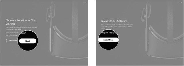 Download Oculus app 4